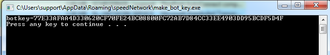 image of make bot key