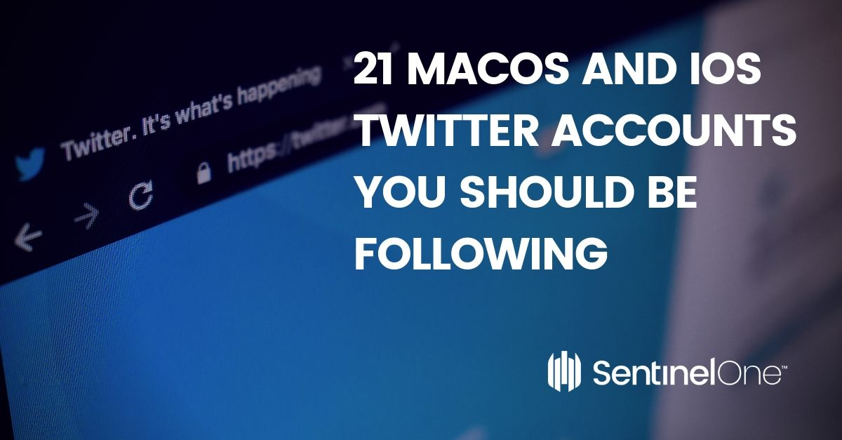21 macOS and iOS Twitter Accounts You Should Be Following