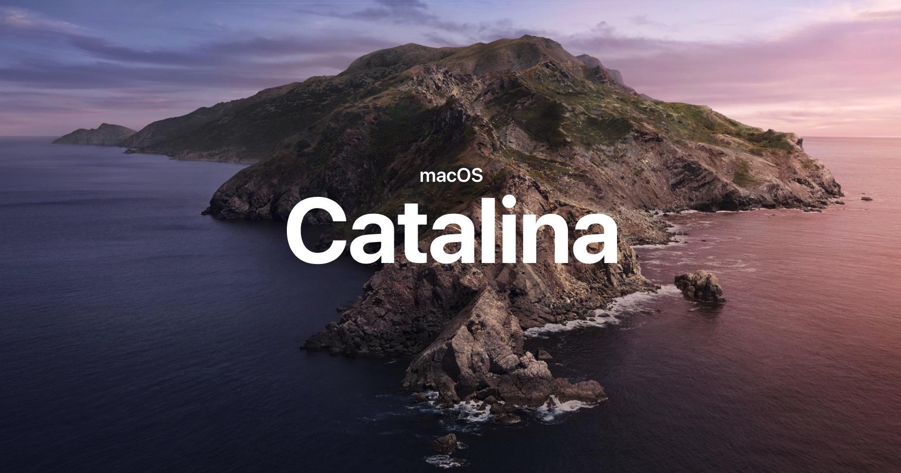 image of mac os catalina 10.15