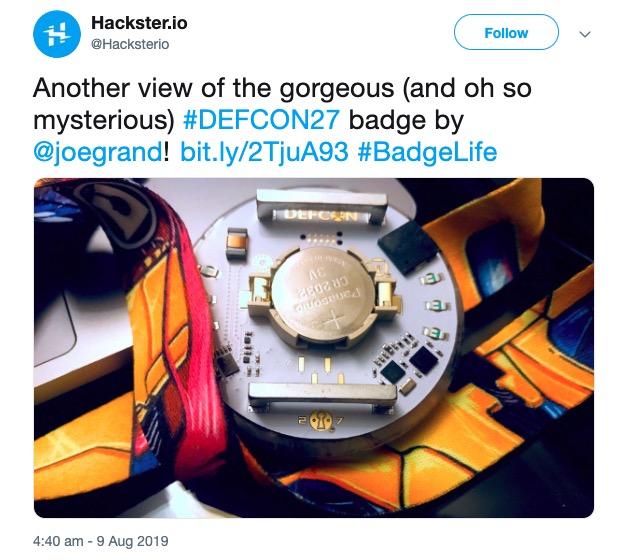 image of defcon badge