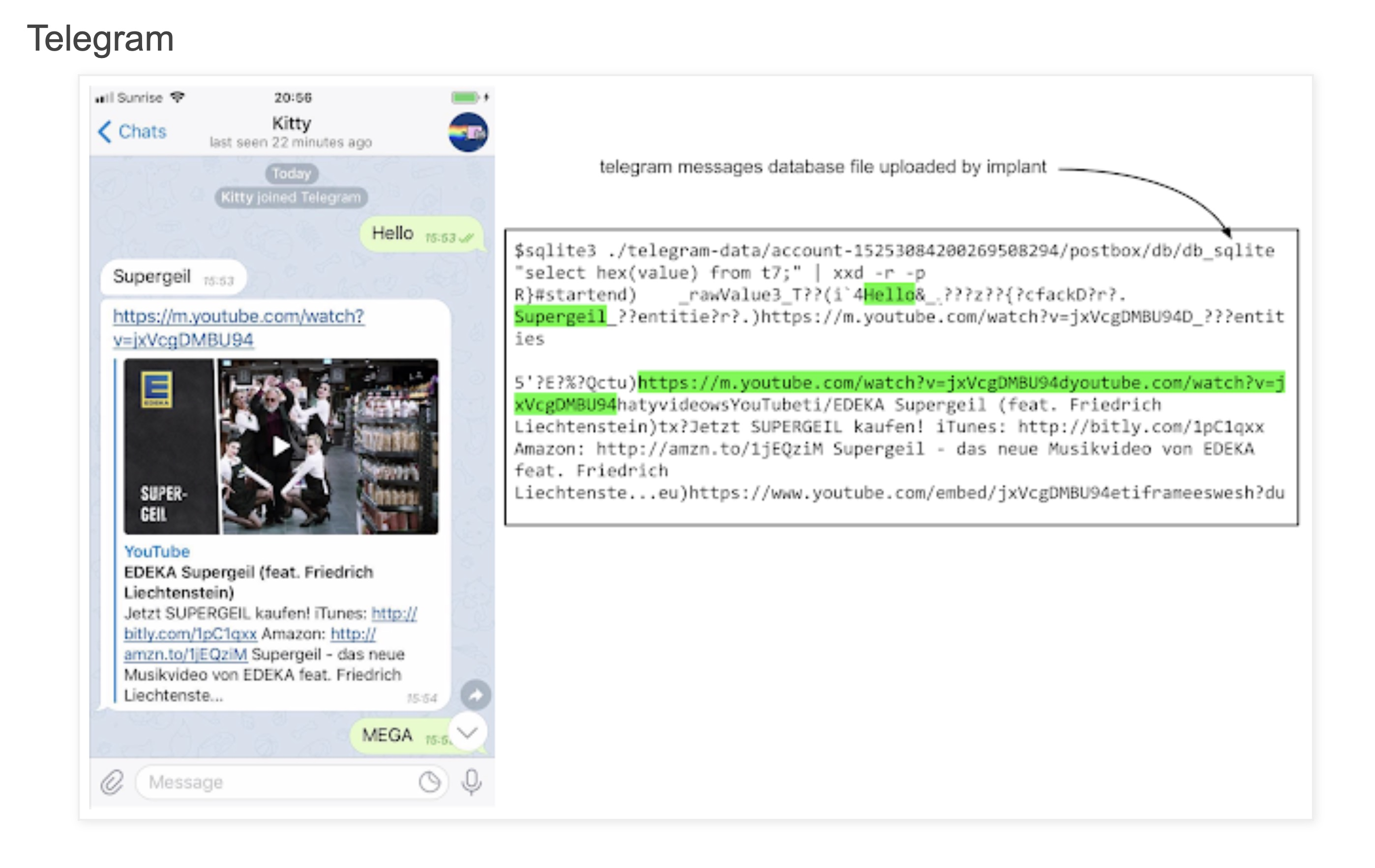 image of malicious code