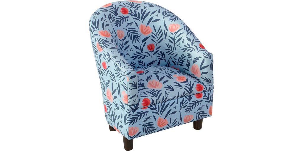 2. Skyline Furniture Kids Chair, Pattern, One size