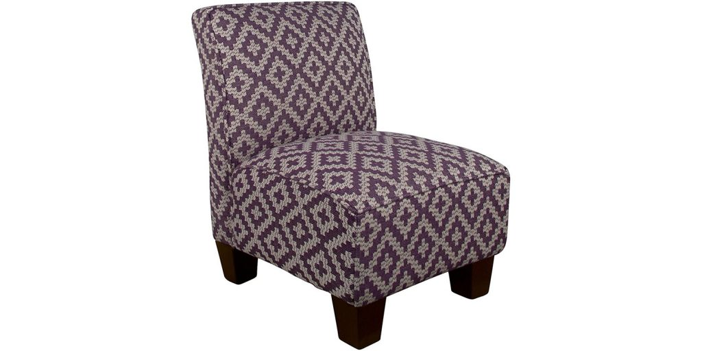 Skyline Kids Armless Chair, Broadway Purple